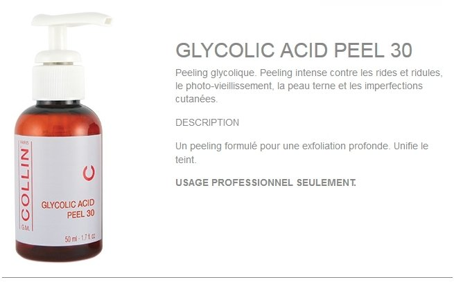 GLYCOLIC ACID PEEL 30